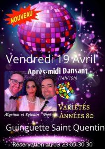 Après midi dansant Guinguette Saint Quentin Nicolas DEMIZIEUX